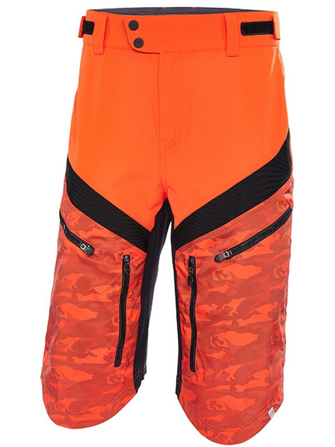 Protective Aru - Bas de cyclisme Homme - orange/noir